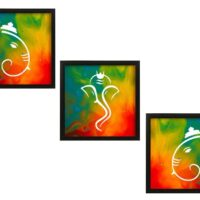 Home Decor Framed Wall Paintings (Set of 3)