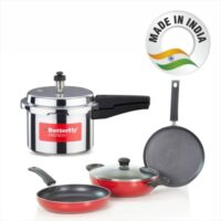 Butterfly Friendly Induction Base Kitchen Starter Kit Induction Bottom Cookware Set