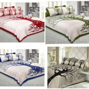 Nspire Luxuries 160 TC Cotton Double Floral Bedsheet  (Pack of 12, Multicolor)