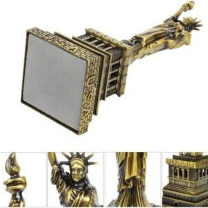 Lilone Lilone Gifting Special Combo – Paris Eiffel Tower | Statue of Liberty | Big Ben Tower for Home Decor | Home Decoration Items | Birthday Decorative Showpiece – 12.7 cm  (Metal, Multicolor)