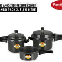 Pigeon Special Combi 2 L, 3 L, 5 L Induction Bottom Pressure Cooker