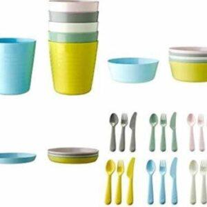 IKEA Pack of 36 PP (Polypropylene) Dinner Set