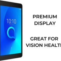 Alcatel 3T8 (2nd Gen) 2 GB RAM 32 GB ROM 8 inches with Wi-Fi+4G Tablet (Black)