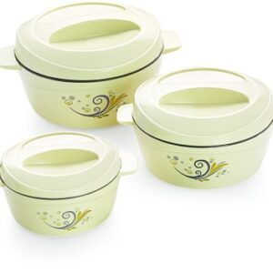 cello Alpha Pack of 3 Thermoware Casserole Set