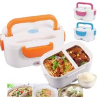 Shopper52 Portable Electric heatable Lunch Box Warmer Convenient for Office,School Etc use-Warm Food – LUNBXB