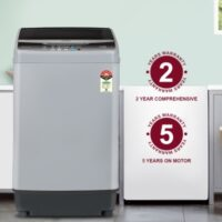 ONIDA 7 kg 5 star Fully Automatic Top Load Grey