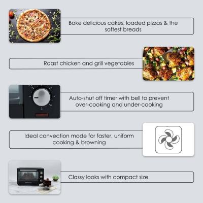 WONDERCHEF 19-Litre OTG Oven Toaster Grill