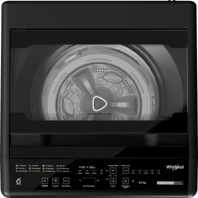 Whirlpool 6 kg Fully Automatic Top Load Grey