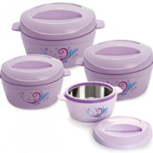 cello Alpha Pack of 4 Thermoware Casserole Set