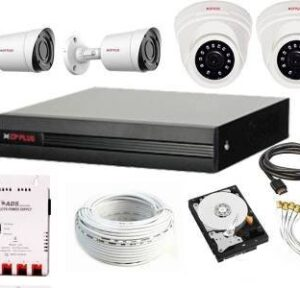 CP PLUS Full HD 4Channel Full CCTV Kit Security Camera Security Camera