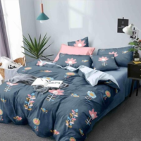 100% Cotton Comforters with 1 Bedsheet and 2 Pillow  Covers