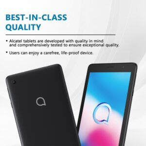 Alcatel 1T 7 4G (2nd Gen) 1 GB RAM 16 GB ROM 7 inches with Wi-Fi+4G Tablet (Black)