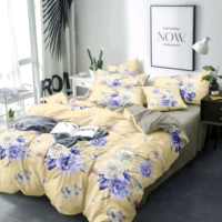 100% Cotton Comforter with 1 Bedsheet and 2 Pillow Covers