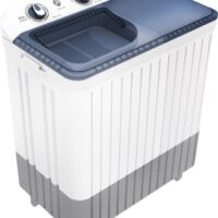 Thomson 6.5 kg 5 Star Rating, Smart Pro Wash Technology Semi Automatic Top Load White, Grey