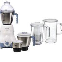 PHILIPS HL1643/06 600 W Juicer Mixer Grinder (5 Jars, White)